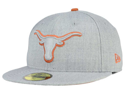 Texas Longhorns New Era NCAA Heather League Basic 59FIFTY Cap