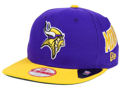 Minnesota Vikings New Era NFL LIDS 20th Anniversary 9FIFTY Snapback Cap