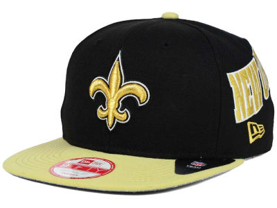 New Orleans Saints New Era NFL LIDS 20th Anniversary 9FIFTY Snapback Cap