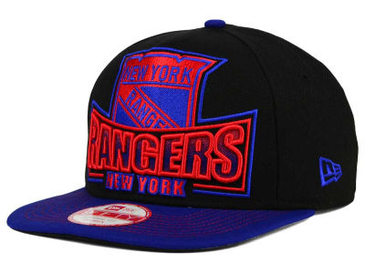 New York Rangers New Era NHL Grader 9FIFTY Snapback Cap