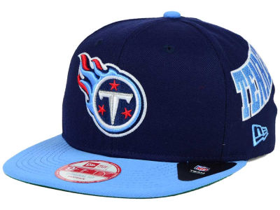 Tennessee Titans New Era NFL LIDS 20th Anniversary 9FIFTY Snapback Cap