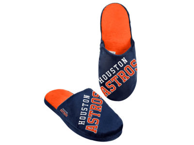 Houston Astros Big Logo Slippers