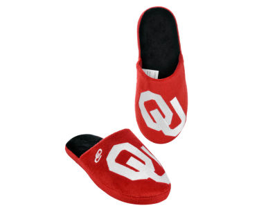Oklahoma Sooners Big Logo Slippers