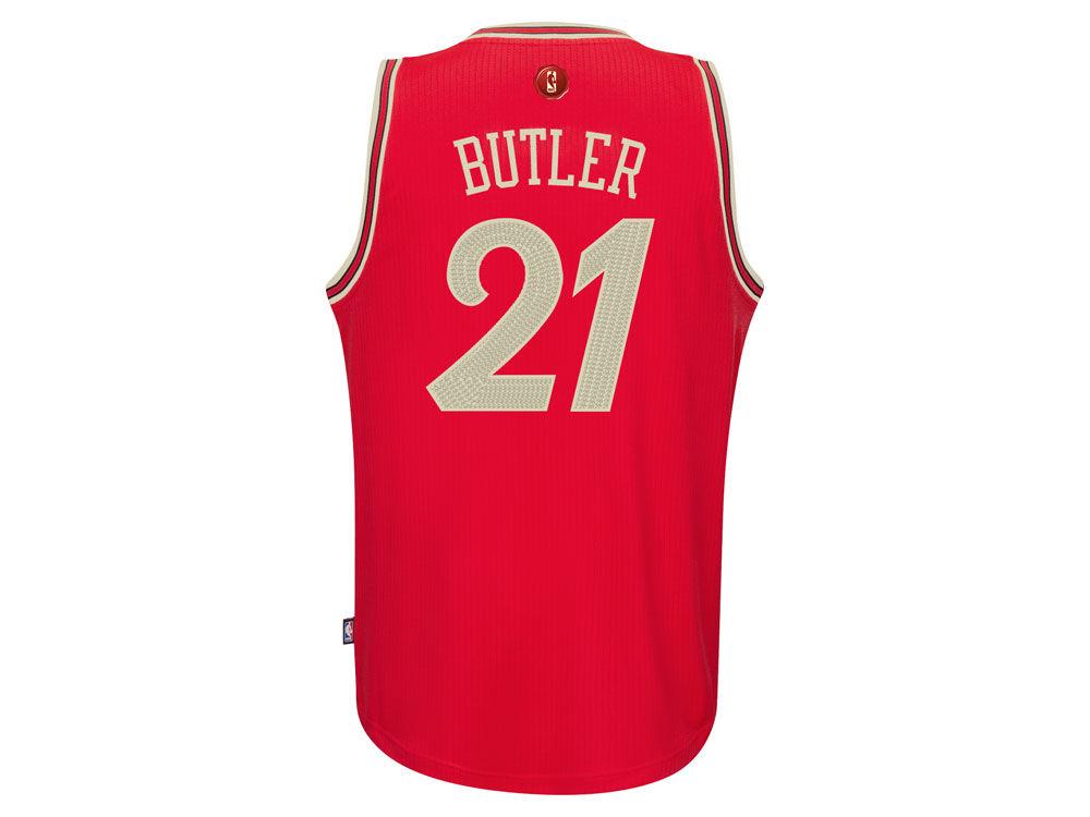 35a2fd6a7 ... greece chicago bulls jimmy butler adidas nba christmas day swingman  jersey 1da4d 407f8