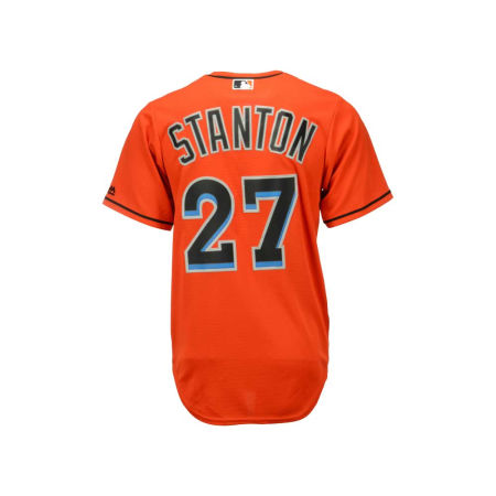 Miami Marlins Giancarlo Stanton Majestic MLB Men's Player Replica Cool Base Jersey