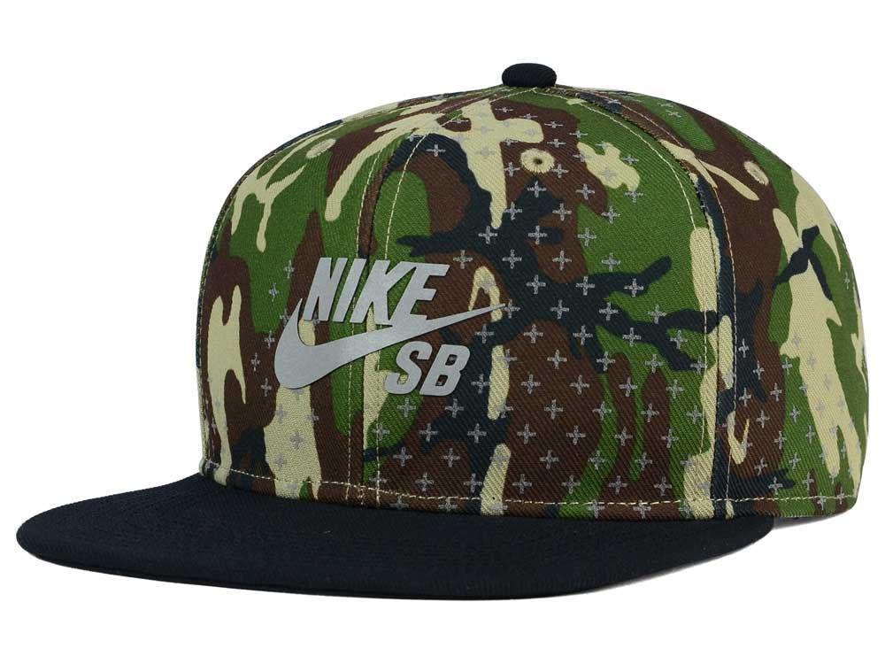 Nike SB Woodland Camo Cap  2f1d5b20b53