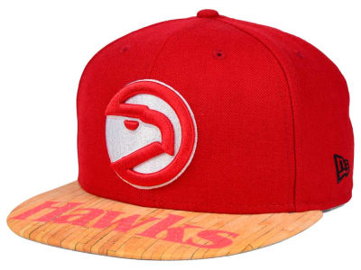 Atlanta Hawks New Era NBA HWC Wood Viz 9FIFTY Snapback Cap