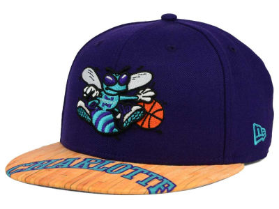 Charlotte Hornets New Era NBA HWC Wood Viz 9FIFTY Snapback Cap