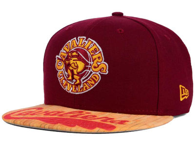 Cleveland Cavaliers New Era NBA HWC Wood Viz 9FIFTY Snapback Cap