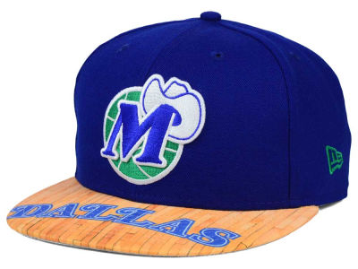 Dallas Mavericks New Era NBA HWC Wood Viz 9FIFTY Snapback Cap