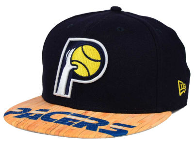 Indiana Pacers New Era NBA HWC Wood Viz 9FIFTY Snapback Cap