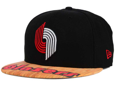 Portland Trail Blazers New Era NBA HWC Wood Viz 9FIFTY Snapback Cap