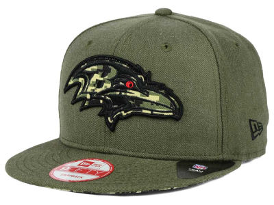 Baltimore Ravens New Era NFL Camo 9FIFTY Snapback Cap