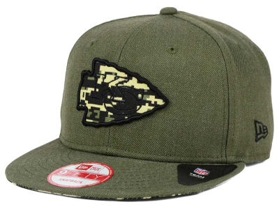 Kansas City Chiefs New Era NFL Camo 9FIFTY Snapback Cap