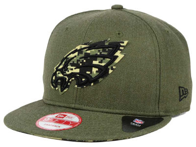 Philadelphia Eagles New Era NFL Camo 9FIFTY Snapback Cap