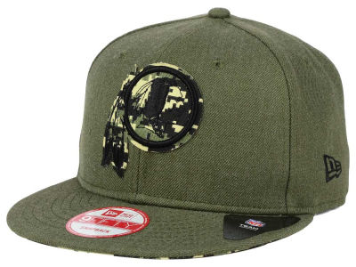 Washington Redskins New Era NFL Camo 9FIFTY Snapback Cap