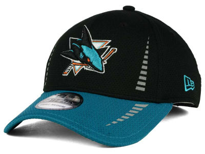 San Jose Sharks New Era NHL 2 Tone Reflective 39THIRTY Cap