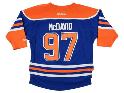 Edmonton Oilers Connor McDavid NHL Toddler Replica Player Jersey