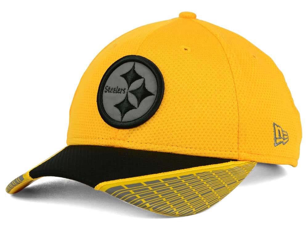 6adff9540 Pittsburgh Steelers New Era NFL Reflective Adjustable 9FORTY Cap ...