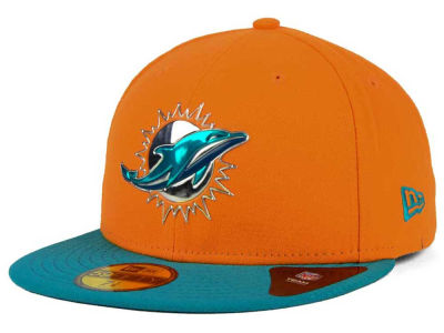 Miami Dolphins New Era NFL Draft Redo 59FIFTY Cap
