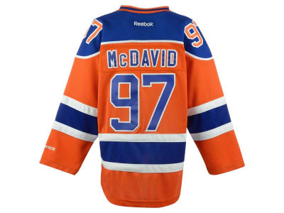 Edmonton Oilers Connor McDavid NHL CN Youth Premier Player Jersey