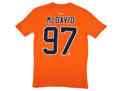 Edmonton Oilers Connor McDavid NHL CN Youth Player T-Shirt