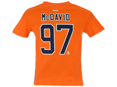 Edmonton Oilers Connor McDavid NHL CN Kids Player T-Shirt