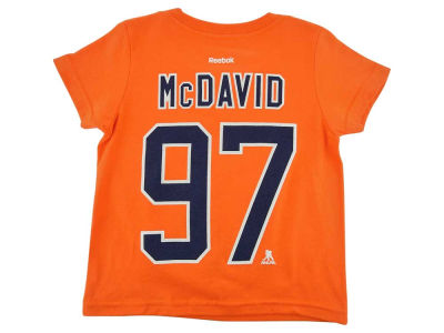Edmonton Oilers Connor McDavid NHL Infant Player T-Shirt