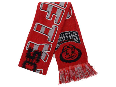 Ohio State Buckeyes Event Wordmark Scarf