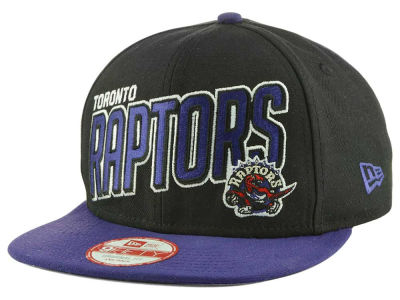 Toronto Raptors New Era NBA HWC Striker 9FIFTY Snapback Cap
