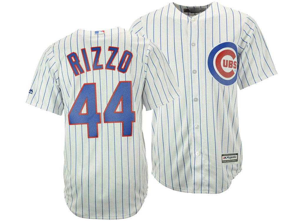 7d9be8858 ... uk chicago cubs anthony rizzo majestic mlb mens player replica cool  base 3xl 6xl jersey 1b947
