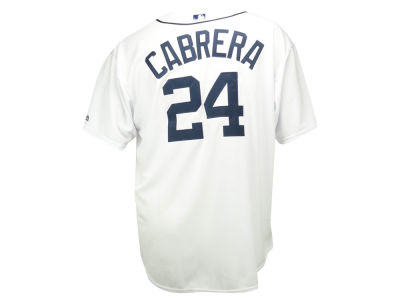 Detroit Tigers Miguel Cabrera MLB Men's Player Replica Cool Base 3XL-6XL Jersey