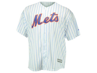 New York Mets Majestic MLB Men's Blank Replica Cool Base Big & Tall Jersey