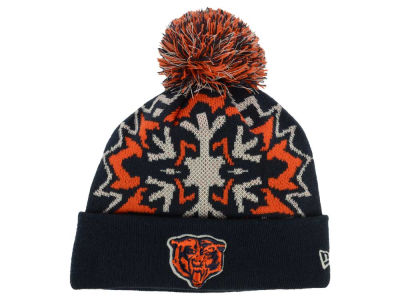 Chicago Bears New Era NFL Glowflake 2.0 Knit