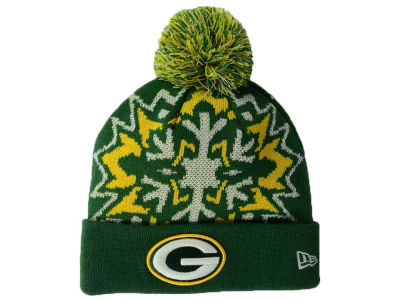 Green Bay Packers New Era NFL Glowflake 2.0 Knit