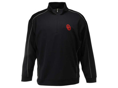 Oklahoma Sooners NCAA Men's Edge Big Half Zip Pullover Shirt