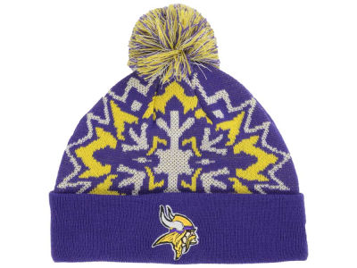 Minnesota Vikings NFL Glowflake 2.0 Knit
