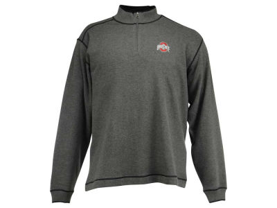 Ohio State Buckeyes NCAA Men's Overtime Half Zip Sweater