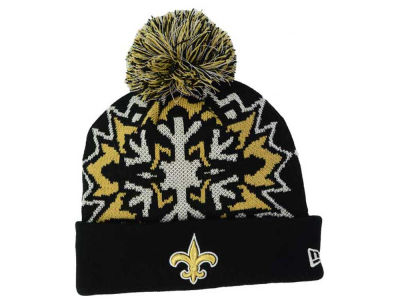 New Orleans Saints New Era NFL Glowflake 2.0 Knit
