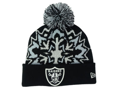 Oakland Raiders New Era NFL Glowflake 2.0 Knit