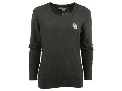 Oklahoma Sooners NCAA Womens Broadview Scoop Sweater