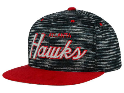 Atlanta Hawks Mitchell and Ness NBA Space Knit Strapback Cap