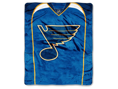 St. Louis Blues 50x60in Plush Throw Jersey