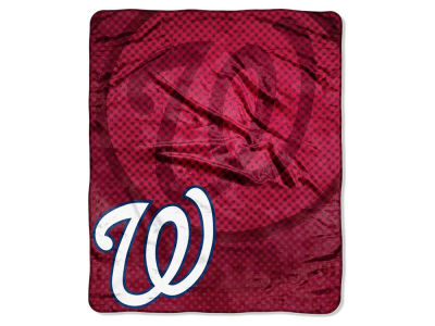 Washington Nationals 50x60in Plush Throw Retro