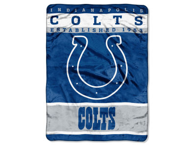 Indianapolis Colts 60x80 Raschel Throw