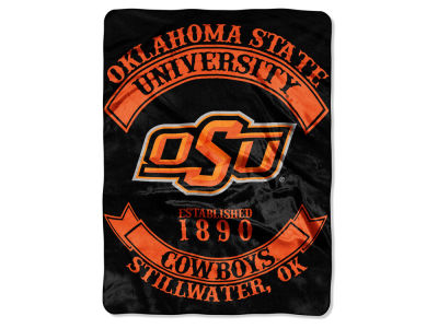 Oklahoma State Cowboys 60x80 Raschel Throw