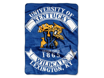 Kentucky Wildcats 60x80 Raschel Throw