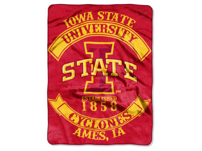 Iowa State Cyclones 60x80 Raschel Throw
