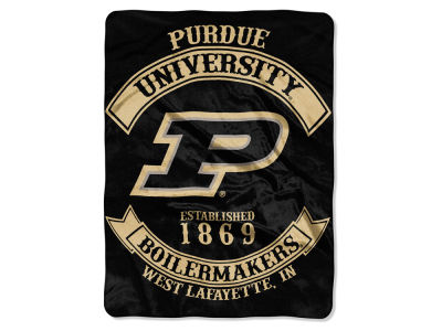 Purdue Boilermakers 60x80 Raschel Throw