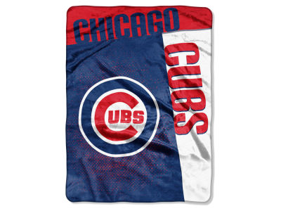 Chicago Cubs 60x80 Raschel Throw